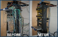 Cleveland Wiring Clean-up