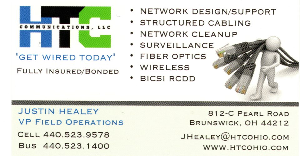 Justin Business Card002 | HTC Communications